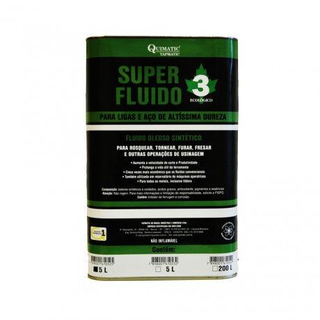 Fluido de Corte Super Fluido 3 - 5L - Tapmatic