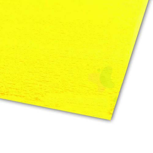 Folha de EVA 40x60cm - Atoalhado Amarelo - 5 Unidades