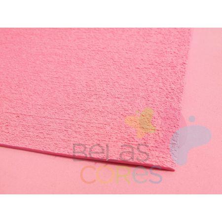 Folha de EVA 40x60cm - Atoalhado Rosa Escuro - 5 Unidades