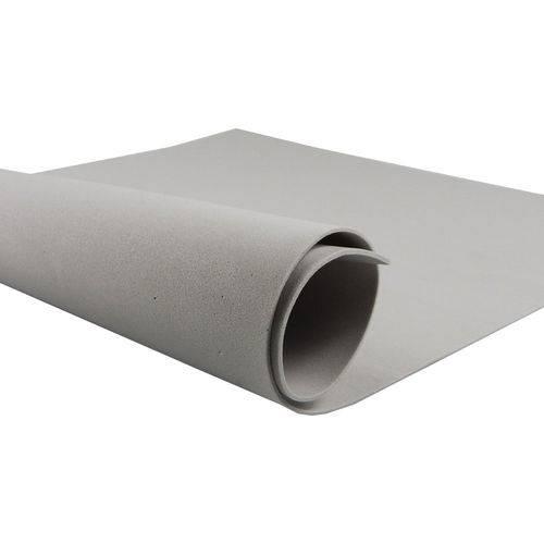 Folha de Eva 40x60cm - Cinza- 10 Unidades