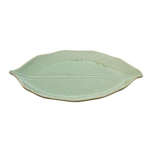 Folha Decorativa de Cerâmica Verde Banana 4123 Lyor