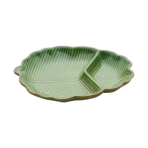 Folha Decorativa de Cerâmica Verde Banana 4125 Lyor