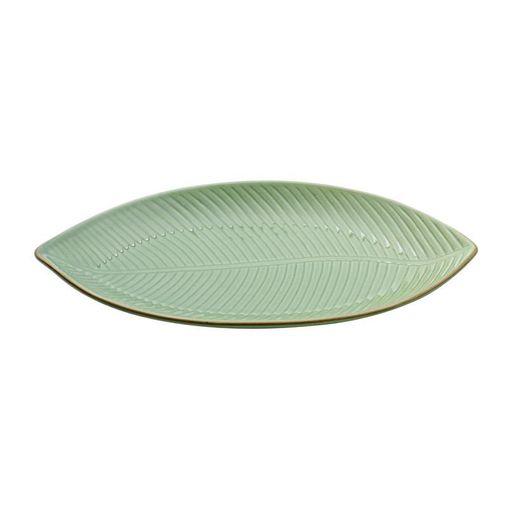 Folha Decorativa de Cerâmica Verde Banana 4128 Lyor