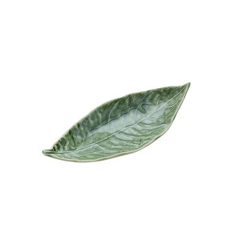 Folha Decorativa Verde Willow Leaf 21cm