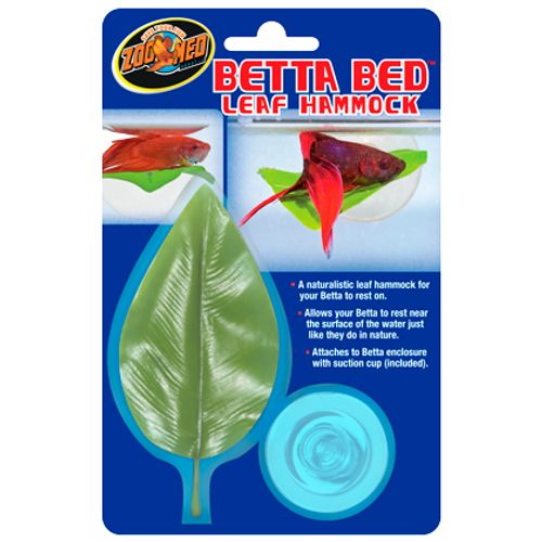 Folha para Descanso de Betta - Zoomed Betta Bed -