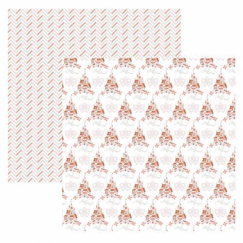 Folha para Scrapbook Disney Toke e Crie Princesas Castelo – Sbd14 – 208