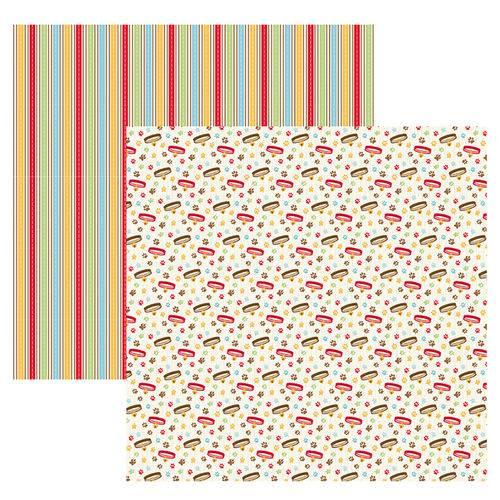 Folha para Scrapbook Mini Básico By Ivana Madi Toke e Crie Pet Coleiras - 20248 - Smb029