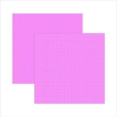 Folha Scrap DF Pink Xadrez Duplo KFSB280 Toke e Crie