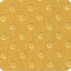 Folha Scrapbook Cardstock Bolinhas II Amarelo Mostarda Ref.19640-PCAR464 Toke e Crie