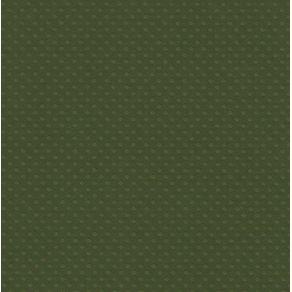 Folha Scrapbook Cardstock Bolinhas II Verde Mata Ref.20075-PCAR504 Toke e Crie