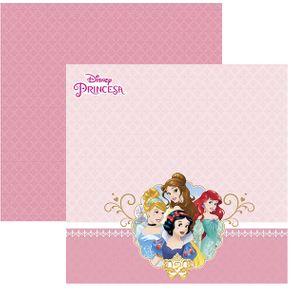 Folha Scrapbook Dupla Face Princesas 2 Paisagem Ref.19347-SDFD053 Toke e Crie
