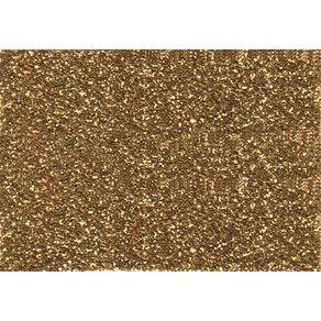 Folha Scrapbook Puro Glitter Ouro Ref.7444-KFS066 Toke e Crie