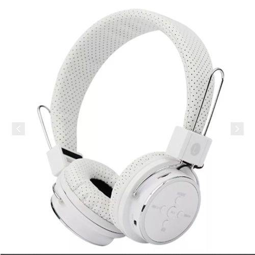 Fone de Ouvido Bluetooth B-05 Branco