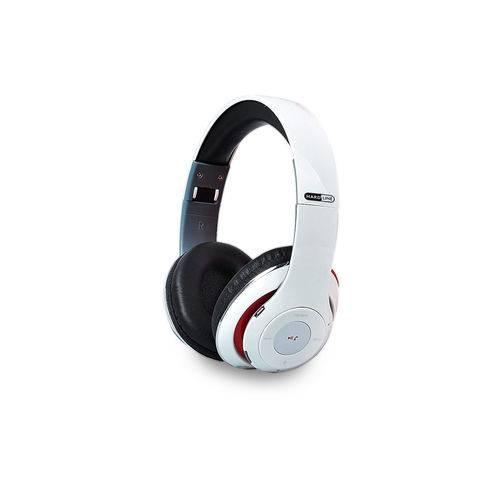 Fone de Ouvido Bluetooth - Branco