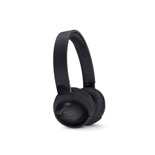 Fone de Ouvido Bluetooth Jbl Tune 600tnc, com Cancelador de Ruido, Preto