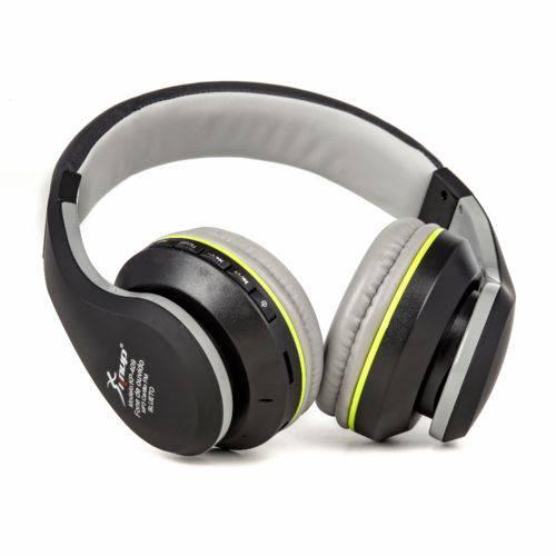 Fone de Ouvido Bluetooth - Knup - KP-409 - FM - Cartão Micro SD - Atende Chamadas - Preto
