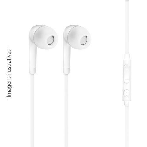 Fone de Ouvido Branco Xp para Moto G5 Plus