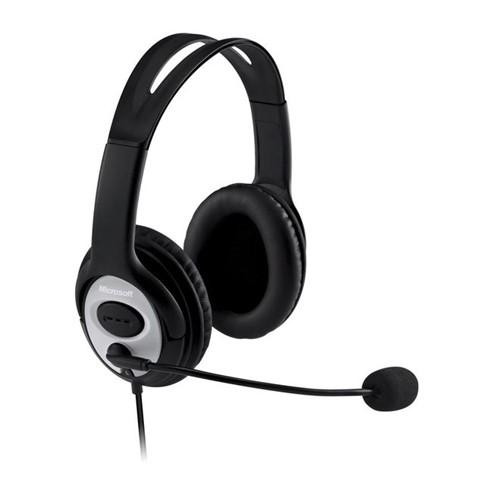 Fone de Ouvido com Microfone LifeChat LX-3000 JUD-00013/JUG-00013 – Microsoft