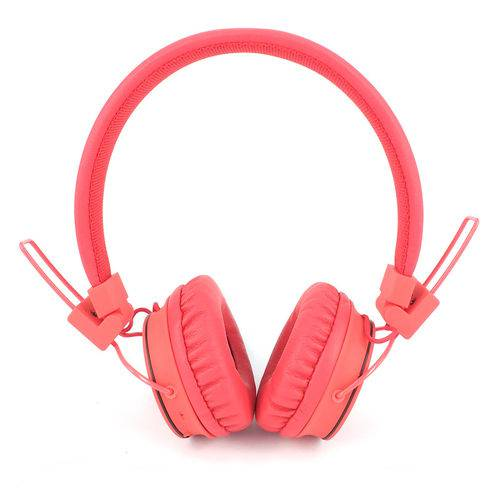 Fone de Ouvido Dc-F310 Vermelho