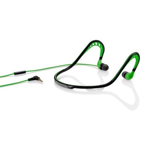 Fone de Ouvido Earphone Pulse Sport Stereo Áudio PH202 Verde Fone de Ouvido Sport Stereo Audio Verde Pulse