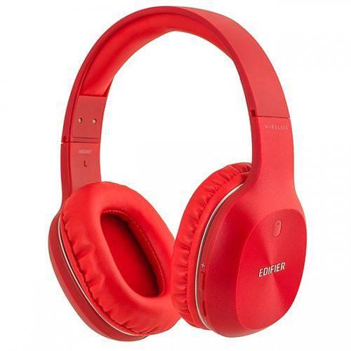 Fone de Ouvido Edifier W800bt Vermelho Hi-fi Bluetooth