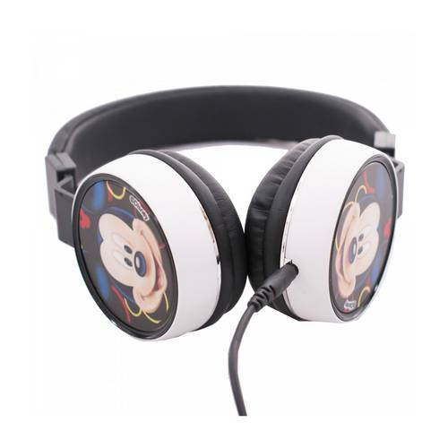 Fone de Ouvido Head Phone do Minnie Mouse Preto
