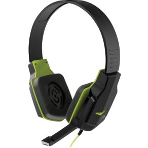 Fone de Ouvido Headset Gamer Multilaser PH146 Preto com Verde