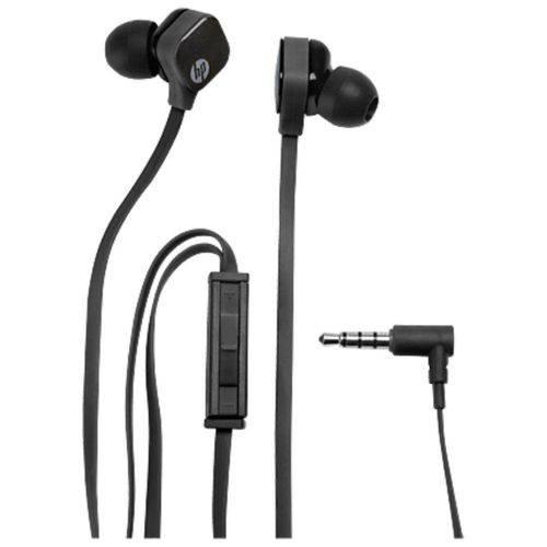 Fone de Ouvido Headset Intra-Auricular Hp H2310 - J8h42aa - Preto