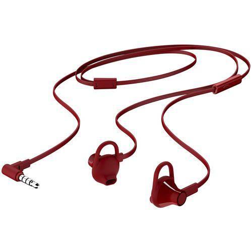 Fone de Ouvido Hp H150 Vermelho Intra-auricular com Microfone