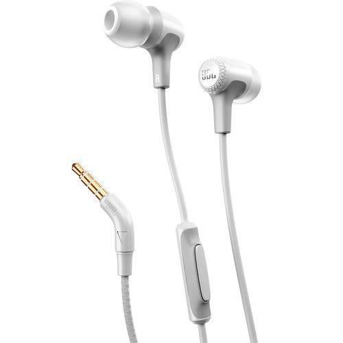 Fone de Ouvido In Ear Branco Jbl E15
