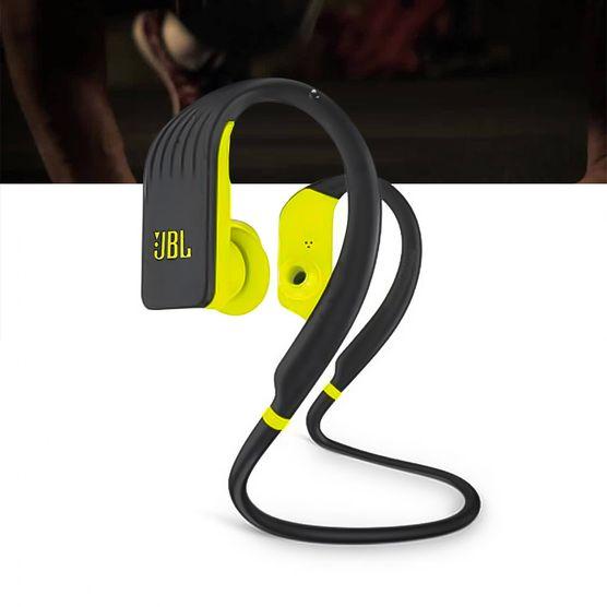 Fone de Ouvido JBL Endurance Jump Bluetooth Esportivo Preto / Verde