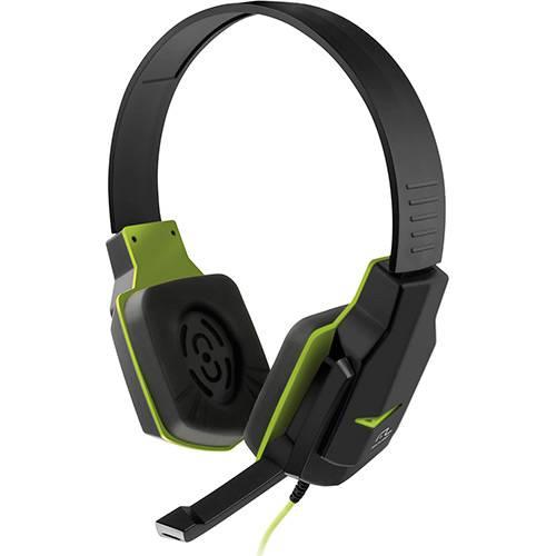 Fone de Ouvido Multilaser Headset Gamer Headphone Verde