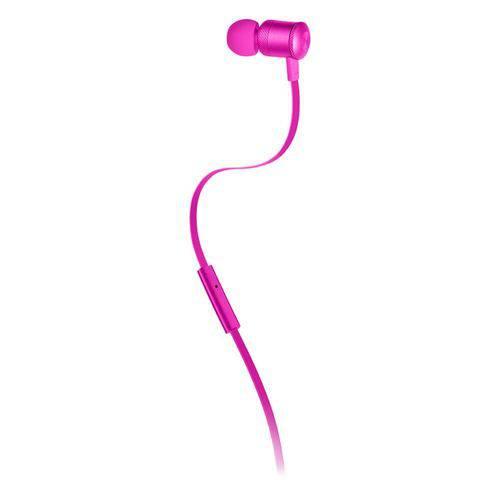 Fone de Ouvido Neon Rosa Ph188 - Pulse