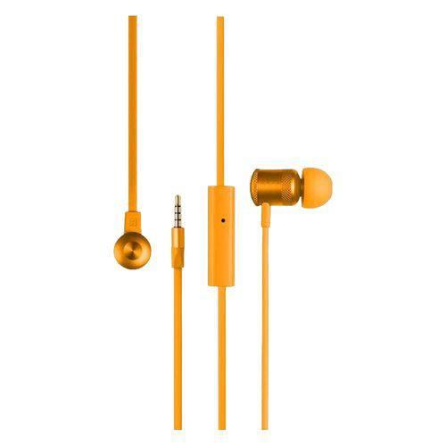 Fone de Ouvido Ph190 Multilaser Earphone Hands Stereo Orange