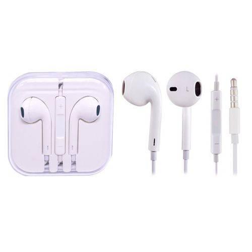 Fone de Ouvido Universal Branco