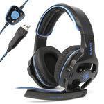 Fone Gamer Headset 7.1 Profissional Microfone Bmax Bm219 F28