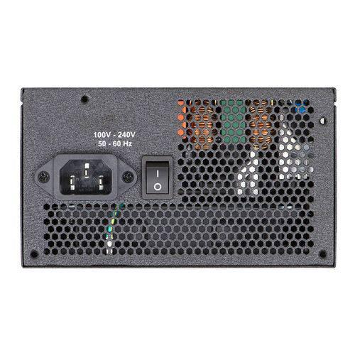 Fonte ATX EVGA 600W 600 BQ 80 Plus Bronze 110-BQ-0600-K1