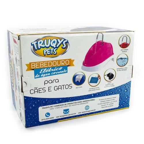 Fonte Bebedouro Elétrico Truqys Pets Azul