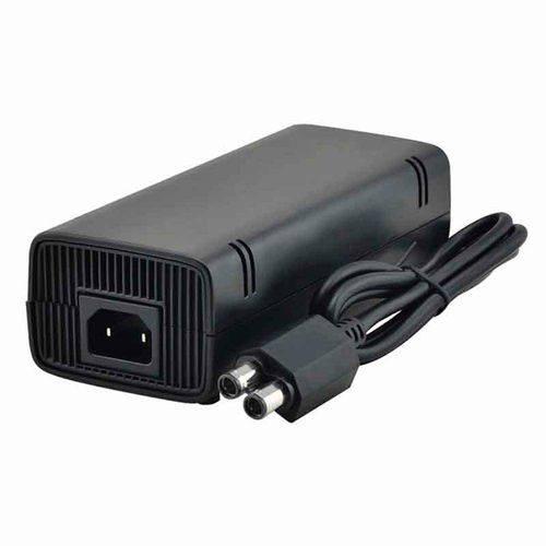 Fonte Xbox 360 Slim Ac Adapter 135w Alimentação Bivolt 110/220v