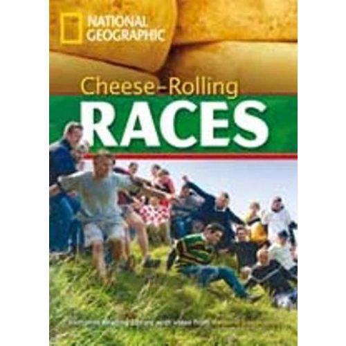 Footprint Reading Library - Level 2 1000 A2 - Cheese-rolling Races - DVD