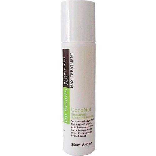 For Beauty Max Treatment Coconut Shampoo Reconstrutor 250ml
