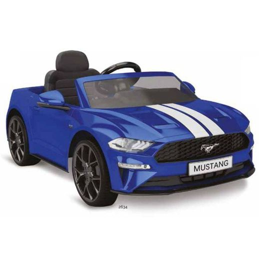 Ford Mustang Azul Elétrico 12V - Bandeirante