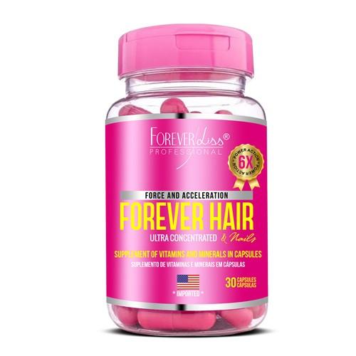 Forever Hair Crescimento Capilar Tratamento 30 Dias