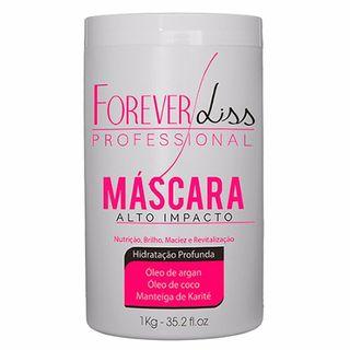Forever Liss Alto Impacto - Máscara Hidratação Profunda 1Kg