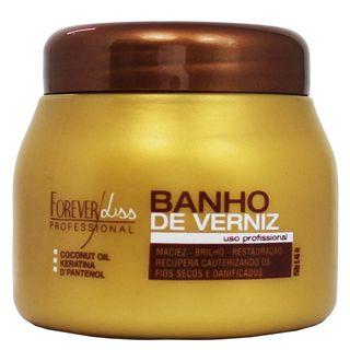 Forever Liss Banho de Verniz Brilho Hidratante - Máscara Capilar 250g
