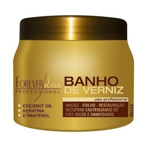 Forever Liss Banho de Verniz Máscara Restauradora 250g