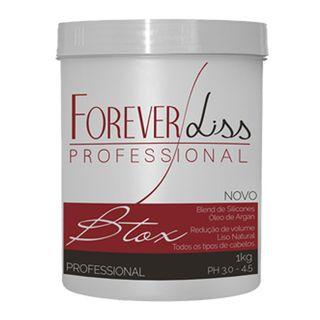 Forever Liss Botox Capilar Argan Oil - Tratamento 1Kg
