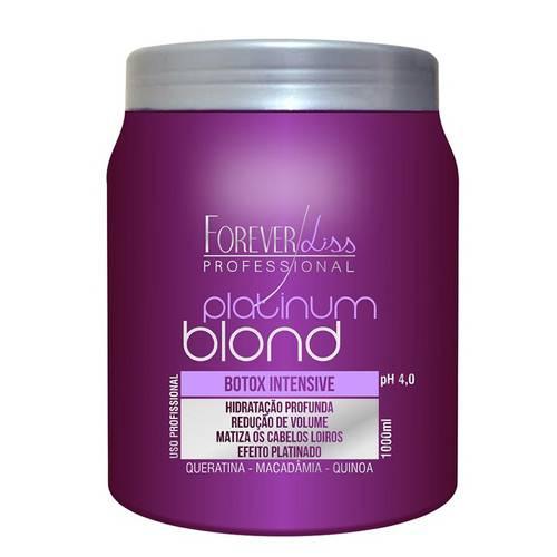 Forever Liss Botox Matizador Intensive Platinum Blond - 1kg
