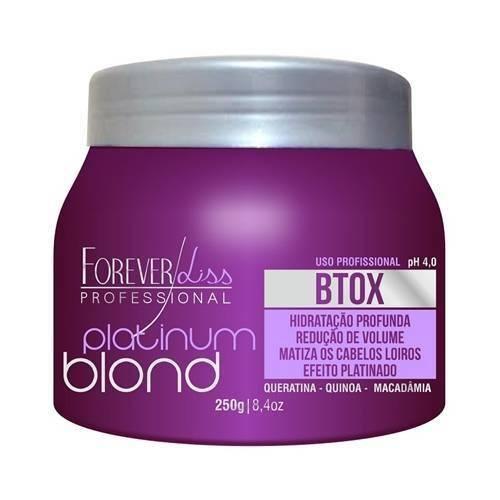Forever Liss Botox Matizador Intensive Platinum Blond - 250g