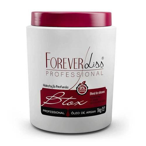 Forever Liss Bt.ox Profissional Argan Oil 1kg